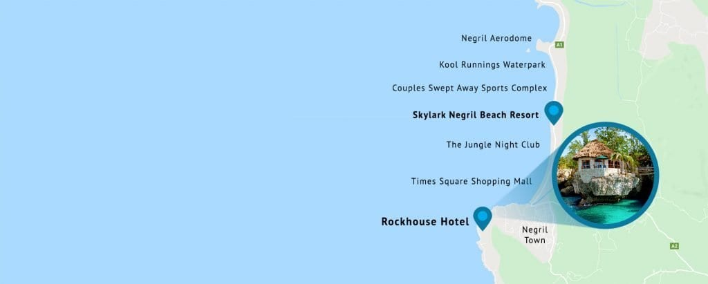 Rockhouse Hotel Map